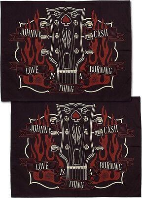 - Tattoo Sourpuss Johnny Cash Pillow Cases Punk Rockabilly Guitar Country Music