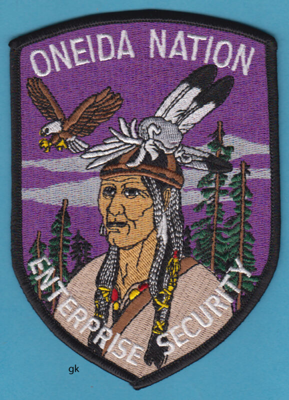 ONEIDA NATION  WI TRIBAL POLICE SECURITY SHOULDER PATCH