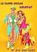 Le clown Duclos et Lulupop