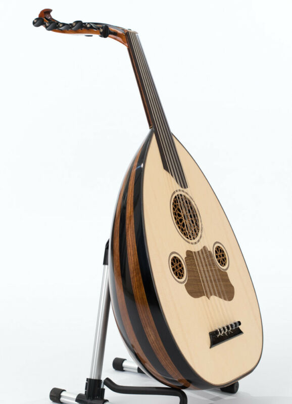 High Quality Turkish Oud Walnut Wood with Kurschner strings by Master Ahmet