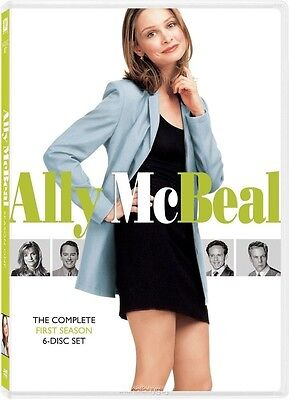 Ally Mcbeal  The Complete First Season  Dvd  2009  6 Disc Set