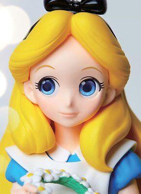 Banpresto Disney Characters Crystalux Alice in Wonderland Alice Figure JAPAN