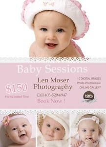 Looking for inexpensive baby photography in Medicine Hat?