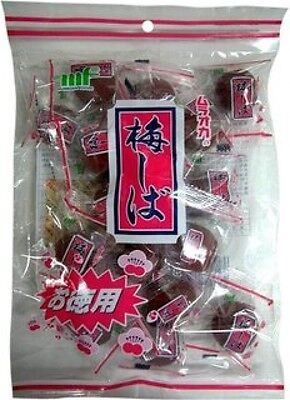 Umeshiba Ume Shiba Umeboshi Crunchy Pickled Plum Snack bag Japanese Sweet sour L