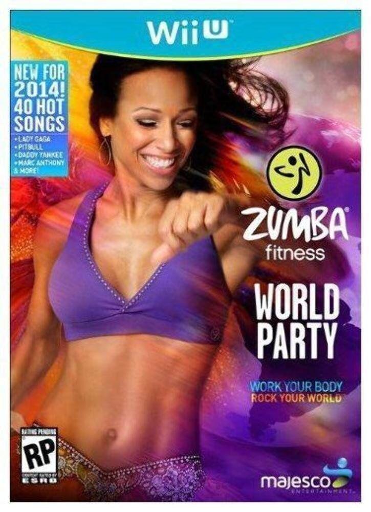 Nintendo Zumba Fitness World Party Wii U System Brand Gam...