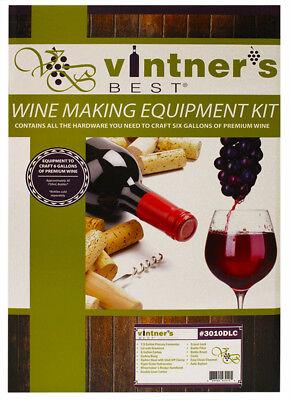 Vintner's Best Wine Equipment Kit w/ Double Lever