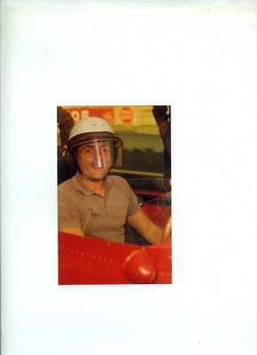 Phil Hill Ferrari F1 World Champion 1961 Portrait Postcard