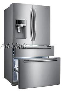SAMSUNG RF4287HARS 4-DOOR FRENCH DOOR REFRIGERATOR