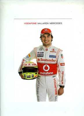 Sergio Perez McLaren F1 2013 Official Team Issued Card
