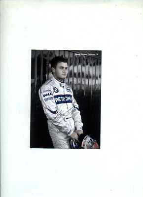 Marko Asmer Sauber F1 2008 Official Team Issued Card