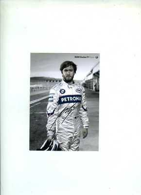 Nick Heidfeld Sauber F1 2008 Official Team Issued Card