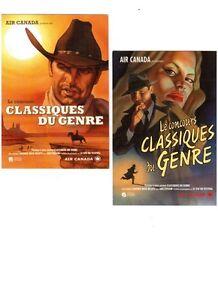 cartes Cinéma Québécois et autres .