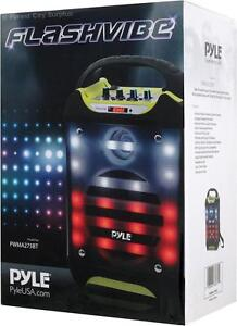 New - PYLE FLASHVIBE PORTABLE KARAOKE PARTY MACHINE WITH BLUETOOTH -- ADD FUN TO SUMMER PARTIES!