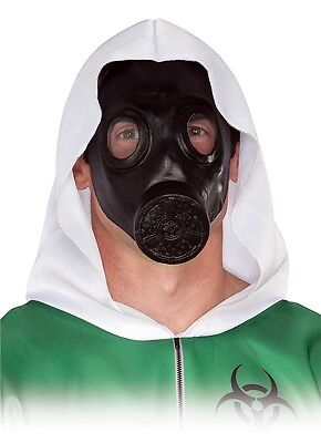 Faux Gas Mask Apocalypse Nuclear Winter - Halloween Gas Mask