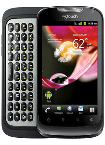 NEW IN BOX HUAWEI MYTOUCH Q 4G SLIDE BLACK T-MOBILE WIFI SMARTPHONE