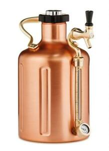 uKeg 128 Pressurized Growler for Craft Beer - Copper Condition: New
