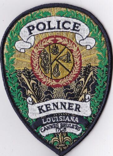 Kenner LA Louisiana Police patch