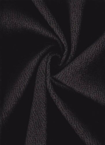 6.875 yd S Harris Sharpei Raven Black Chenille Upholstery Fabric HD