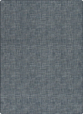 Milliken Brushed Denim Contemporary Achromatic Area Rug Solid Broadcloth For Sale Online