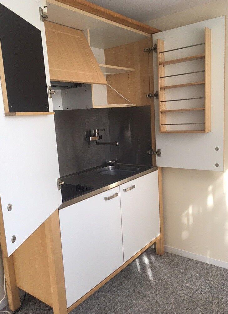 All In One Kitchen Unit - minimalist interior design