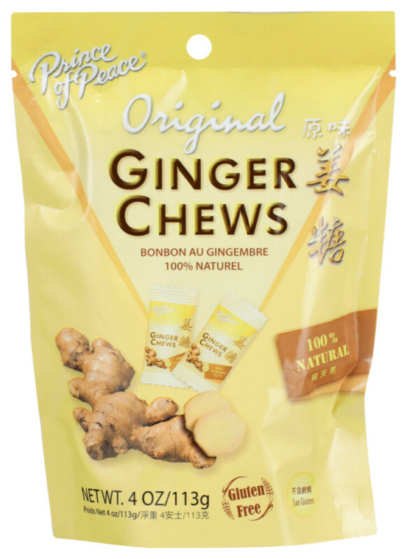 Prince Of Peace  Ginger Chews, 4 OZ