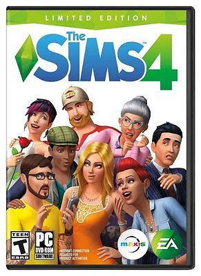 The Sims 4 Limited Edition  Pc Mac Games    Free Shipping