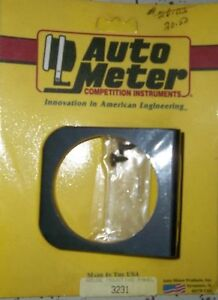 "2 - AUTO METER # 3231 SINGLE HOLE 2 5/8"" GAUGE PANEL $10.00 each Belleville Belleville Area image 4"