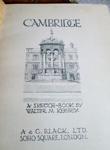 Cambridge, UK: A Sketch-Book by Walter M. Keesey, 1926 Kitchener / Waterloo Kitchener Area image 2