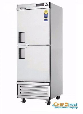 Everest Ebwfh2 One Section Two Half Door Upright Reach-in Freezer