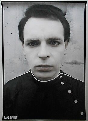 GARY NUMAN Tubeway Army Are Friends Electric Outfit 33 X 23 Inch Colour Poster