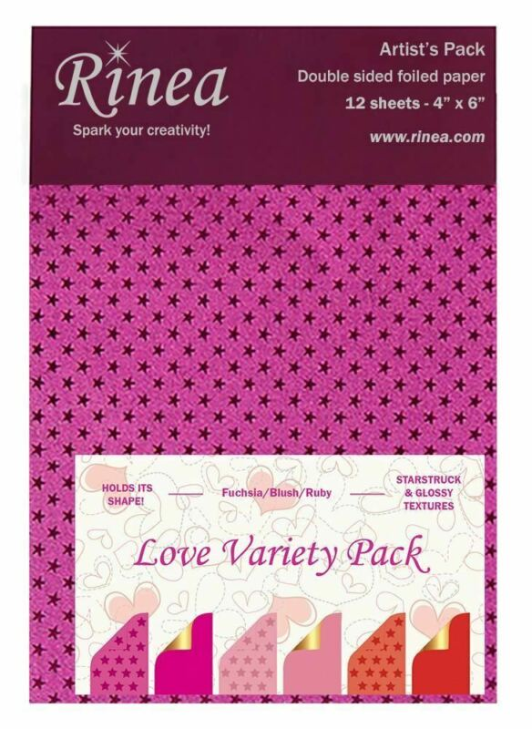 Love Rinea Foiled Paper Variety Pack - Artist