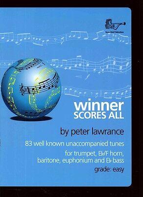 WINNER SCORES ALL Lawrance Treble Brass