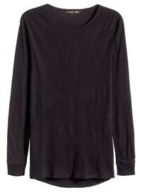 Balmain X H&M Ribbed T-Shirt Size Small Brand New