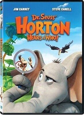 Dr Seuss Who (Dr. Seuss' Horton Hears a Who! (DVD, 2009) Jim Carrey Steve Carell)