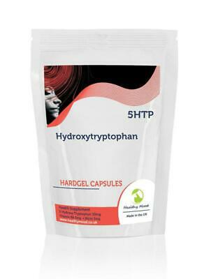 5 Htp 30 Kapseln (5htp 50mg 5-hydroxy Tryptophan X30 Kapseln Briefkasten Größe)