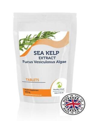 Kelp 500mg Jod Sea 250 Tabletten Gesunde Mood Stoffwechsel - Kelp 250 Tabletten