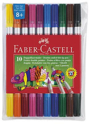 Faber-Castell Doppelfasermaler Filzstifte Fasermaler Malstifte