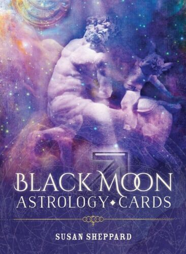 Black Moon Astrology Cards with Instruction Booklet by Susan Sheppard USGS New