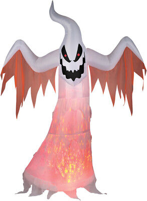 HALLOWEEN Kaleidoscope PROJECTION GHOST HAUNTED HOUSE INFLATABLE AIRBLOWN 7 FT