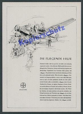 Ju 52 D-AOHU BAYER Leverkusen Apotheke Medizin Köln Butzweilerhof Luftfahrt 1941