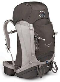 Osprey Kestrel 68 Backpack - Talus Grey