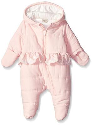 Calvin Klein Infant Girls Pink Pram/Snowsuit Size 0/3M 3/6M 6/9M $98