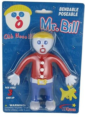 Mr Bill Bendable Poseable Posable Snl Saturday Night Live Doll Figure Bendy