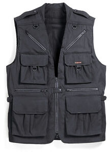 Tamrac 153 X-Large World Correspondent's Vest - Black -  Fast & Free US Shipping