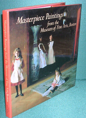 Masterpiece Paintings from the Museum of Fine Arts, Boston-First Edition/DJ-1986 for sale  Shipping to India