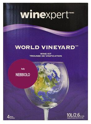 World Vineyard Italian Nebbiolo Italian Barolo Style Wine Making Ingredient Kit