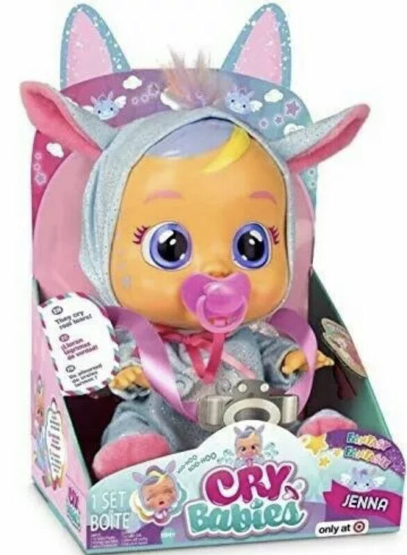 Jenna - Cry Babies Doll - Target Exclusive - New in Box