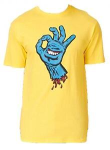 SANTA-CRUZ-Mano-Gritos-OK-mano-Skate-Camiseta-XXL-amp-Grande