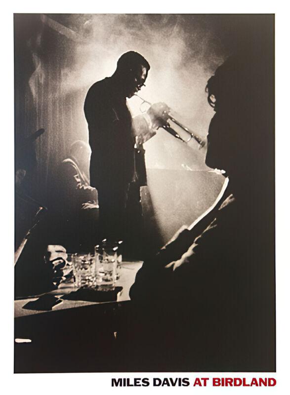 Miles DaVIs - Live At Birdland - Music Poster / Art Print)