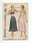 Vintage Sewing Patterns 40s